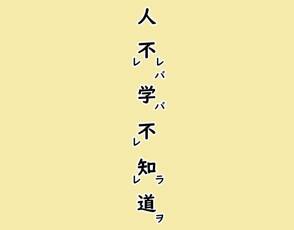 訓読文解説画像